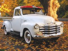 "great old pickup!  would love to have one of these to ""putt"" around in!    1950 Chevy Pickup Photos by Annalise"