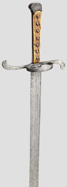 Langes Messer, 1530-1550, length 129 cm