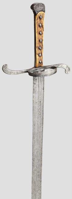 Langes Messer, 1530-1550, length 129 cm