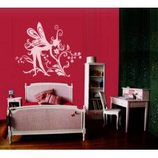 Fairy wall sticker No9 Flowers