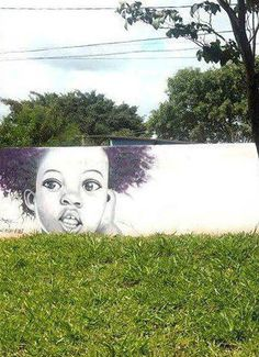 When Street art meet nature