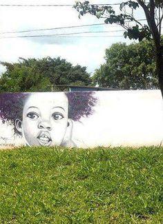 When Street art meet nature