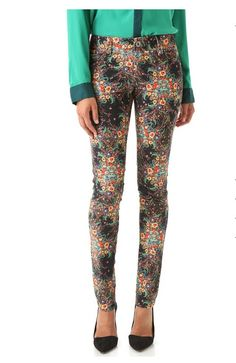 Alice + Olivia Corduroy Skinny Pants