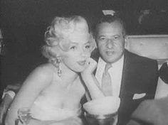 Marilyn at Walter Winchell's birthday party celebration at Ciro's Nightclub, May 13th 1953.