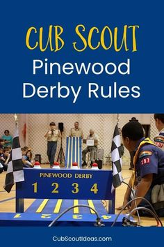What Are the Official BSA Pinewood Derby Rules? What are the official BSA Pinewood Derby rules? Find out all about them in this post. Get printable examples of the race rules and car inspection checklists. Cub Scout Activities, Fun Activities, Sixpack Boys, Pack Meeting, Basic Hand Tools, Router Wood, Wood Lathe, Cnc Router, Pinewood Derby Cars