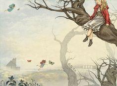 Julian De Narvaez: www.folioart.co.uk/illustration/folio/artists/illustrator/julian-de-narvaez - Agency: www.folioart.co.uk - #illustration #art #traditional #fairytale