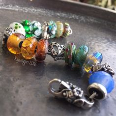Autumn forest - trollbeads, truebeadz, summersday, lionspawjly, dutchbeadsnmore
