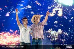 Foto do show da dupla Fernando e Sorocaba realizado em Belo Horizonte/MG no dia 22-07-2012