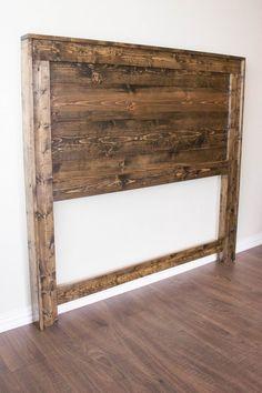 Nice 39 Unordinary Diy Headboard Ideas For Bedroom Look Fabulous. # wood headboard 39 Unordinary Diy Headboard Ideas For Bedroom Look Fabulous