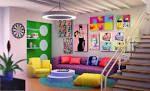 Retro Interior Design - Retro Design And Styles Design Pop, Design Retro, Retro Interior Design, Interior Designing, 5d Wall Stickers, Interior Simple, Casa Clean, Retro Home Decor, Do It Yourself Home