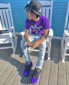 Dope Outfits For Guys, Swag Outfits Men, Outfits For Teens, Teen Boy Fashion, Mens Fashion, Lil Tay, Cute Rappers, Golf Outfit, Man Outfit
