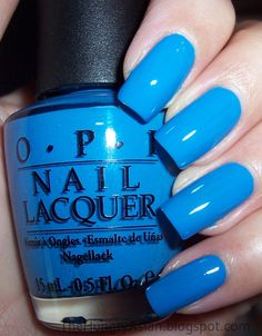 OPI Ogre-The-Top. I wonder if they make a gel paint in this color?