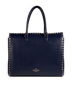 DESIGNER:  VALENTINO SEE DETAILS HERE:  Leather Rockstud Tote
