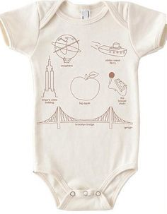 Maptote New York City Onsie