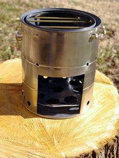 Improved Nomad Stove #1