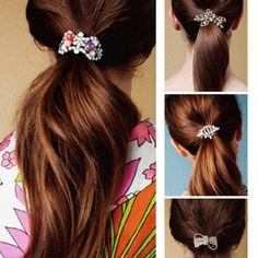 gorgeous #ponytail #holders
