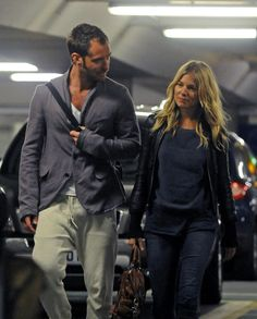 Sienna Miller and Jude Law Photos: Jude Law and Sienna Miller Return from Kenya