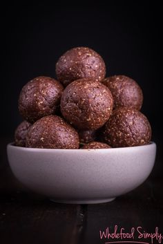 jaffa bliss balls
