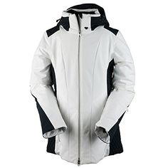 c8254250e92d Obermeyer Women s Siren Jacket White 4    Find out more at the image link.