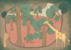 夢境 #illustration #daylilyart #插畫 #玳力力