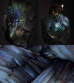 Fabric manipulation by Lauren Bowker