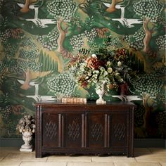 Zoffany - Luxury Fabric and Wallpaper Design | Products | British/UK Fabric and Wallpapers | Verdure (ZAMW310431) | Arden Wallpapers by Melissa White