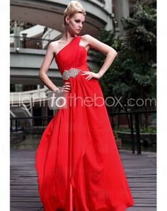 One Shoulder Floor-length A-line Formal Evening Dresses With Crystal Detailing http://www.lighttothebox.com/special-occasion-dresses/evening-dresses.html