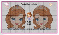 Princesinha Sofia Sofia The First Cartoon, Stitch Doll, Snow White Disney, Stitch Cartoon, Perler Bead Art, Animation, Plastic Canvas Patterns, Princesas Disney, The Little Mermaid