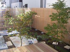 目隠しフェンス 施工例 |お庭のデザイン&リフォーム|グリーンケア