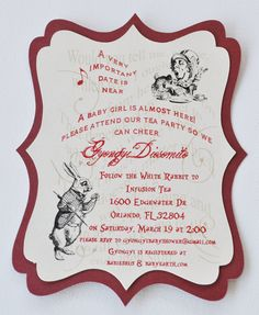 Mad hatter tea party invitations alice in wonderland themed shoot mad hatter tea party invitations alice in wonderland themed shoot hintsofwhimsy all in the details pinterest tea party invitations mad hatter tea stopboris Gallery