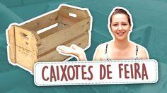 DIY - Transformando Caixotes de Feira em Móveis (PARTE 1)