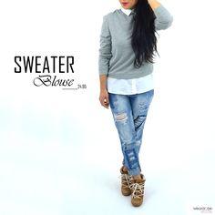 Sweaterblouse