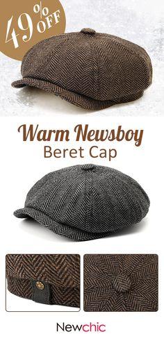 c54624b3edd1 Cotton Newsboy Beret Cap  cap  outdoor  menswear Mens Beret Hat,  Fisherman s Hat
