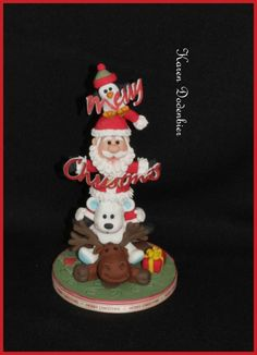 My Christmas stack! - Cake by Karen Dodenbier
