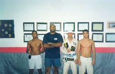 Lutador de jiu-jitsu: Carlson Gracie Nova- Iguaçu