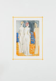 Otto Mäkilä - Lady figures, mixed media