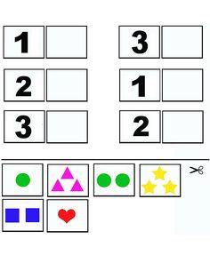 Printable Preschool Worksheets, Kindergarten Math Worksheets, Math Numbers, Learning Numbers, Math Games, Preschool Activities, Numbers For Toddlers, Math For Kids, Album