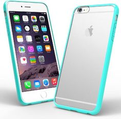 iPhone 6 Plus case, Caseology® [Clearback Bumper] [Turquoise Mint] DIY Customization Fusion Hybrid Cover [Shock Absorbent] Apple iPhone 6 Plus case