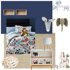 Stylish room for a young boy that will grow with him in years to come Young Boys, Photo And Video, Bedroom, Stylish, Instagram, Home Decor, Baby Boys, Decoration Home, Room Decor