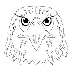 Eagle Head Coloring Pages