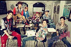 Peniel,Minhyuk,Eunkwang,Ilhoon,Hyunsik,Changsub,Sungjae ♡