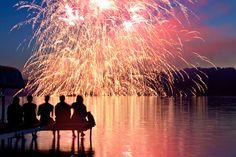 looks like a wonderful night with friends <3 nothin like fireworks