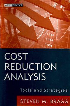 BRAGG, Steven M.. Cost reduction analysis: tools and strategies. Hoboken: John Wiley & Sons, 2010. xiv, 314 p. (Wiley advisor). Inclui índice. ISBN 9780470587263.  Palavras-chave: CONTABILIDADE DE CUSTOS; NEGOCIOS E ECONOMIA/Avaliação e Gestão de Riscos; CONTROLE DE CUSTOS.  CDU 657.47 / B813c / 2010
