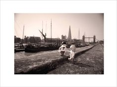 Tower Bridge Toy Figure Print by Mini Life Adventures, the perfect gift for Explore more unique gifts in our curated marketplace. River Thames, Life Is An Adventure, Tower Bridge, Saatchi, Photography Ideas, Wedding Gifts, Competition, Childhood, Toy