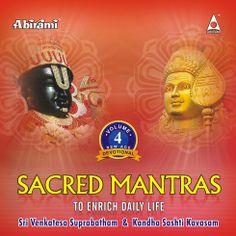 Sacred Manthras Vol - 4 - Suprabatham And Kandhasasthi Kavasam-ACD