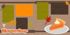 PPbN Designs - November Scrapbook Page Kit, $0.00 (http://www.ppbndesigns.com/products/november-scrapbook-page-kit.html)