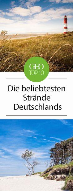Die beliebtesten Strände Deutschlands: Zuhause ist es doch am schönsten! Dieser Trend zieht sich durch die letzten Jahre, immer mehr Deutsche verbringen Ihre Ferien an den heimischen Stränden. Wir zeigen zehn Gründe, warum das kein Wunder ist