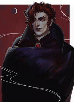 "lizzart-zardonicz: ""It's almost Halloween, right? Anyways, here are some Vampire! Vampire Boy, Vampire Hunter D, Gothic Vampire, Wicca, Pokemon, Angel Warrior, Fairytale Fantasies, Goth Art, Dark Fantasy Art"