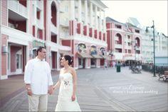 Disneys BoardWalk Wedding: Annie + James