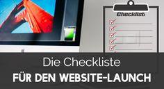 Checkliste: Das solltest du tun bevor deine Website live geht - http://ift.tt/2aysrip